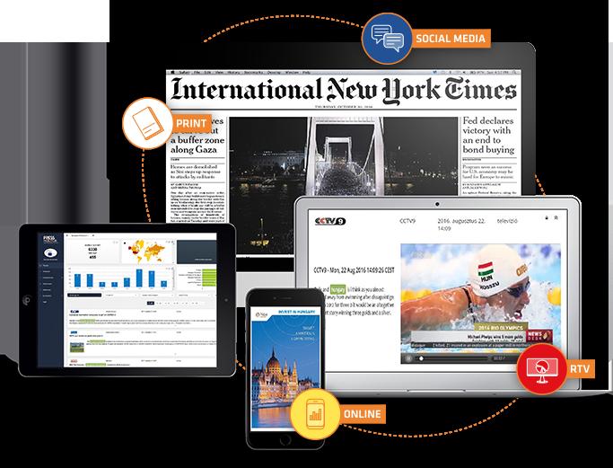 Nemzetközi médiafigyelés és -elemzés